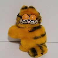 "Vintage Garfield 1981 plush 4"" clip on Stuffed Animal Antenna Pencil Buddy"