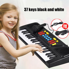 Kids Piano Multi-function 37 Key Electronic Organ Music Keyboard With Microphone