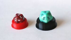 D20 Die / Dice Holder for Magic the Gathering (Spin Down Life Counter) 2 Sizes