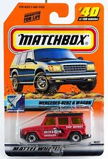 Matchbox #40 Mercedes-Benz G Wagon With MB 2000 Logo New On Card