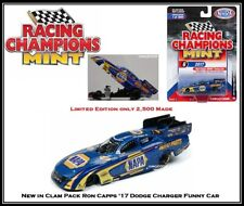New Racing Champion 1/64th Die Cast Car Ron Capps '17 Dodge Charger Funny Car