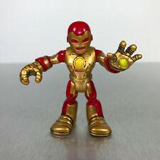 Playskool Marvel Super Hero Adventures IRON MAN figure from Repulsor 4x4