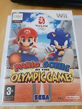 Mario y Sonic en los Juegos Olímpicos Wii Juego! sin Manual, Free UK POST!