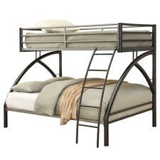 Coaster Stephan Twin over Full Metal Bunk Bed in Gunmetal