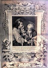 SAN PIETRO, Gesù Cristo Pietro Monaco Venezia Strozzi Acquaforte 17730-39
