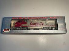 ATLAS MASTER SILVER SERIES HO DASH 8-40CW SANTA FE #804 CLEAN! In Box Exc 7626