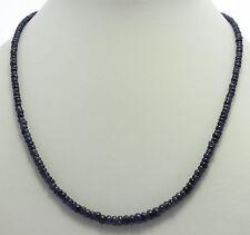Natural Zafiro COLLAR,cadena de piedras preciosas,azul,zafiro,superior,collar