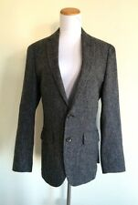 NWT $298 JCrew Mens 40R Ludlow Blazer English Tweed Moon Charcoal Gray C8778
