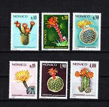 MONACO timbre  plantes jardin exotique  1974   num: 997/1002  **