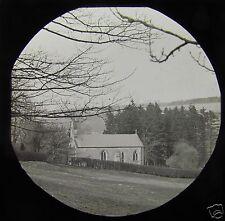 Glass Magic Lantern Slide BOROUGHBRIDGE NO2 C1900 CHURCH YORKSHIRE