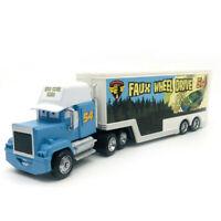 Pixar Cars Diecast Faux Wheel Drive No.54 Child Loose McQueen Car 1:55 Kids Toy