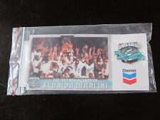 1998 Florida Marlins Stadium Giveway Pin World Champion 4-15-98 vs Phillies