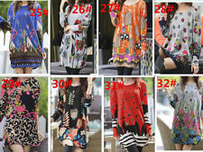 Basic Tees Machine Washable Floral T-Shirts for Women