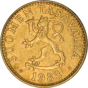 [#383723] Monnaie, Finlande, 50 Penniä, 1983, TTB+, Aluminum-Bronze, KM:48