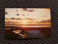 Sunset Over the Western Isles - Vintage Postcard