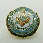Grand Lodge 200th Anniversary Connecticut Mason Masonic Enameled Lapel pin
