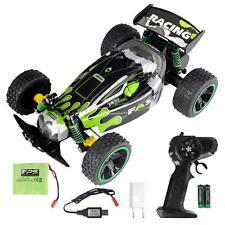 RC Buggy 1:18 Jouets Pour Enfants Monster terrain électrique voiture 2.4ghz RTR vert