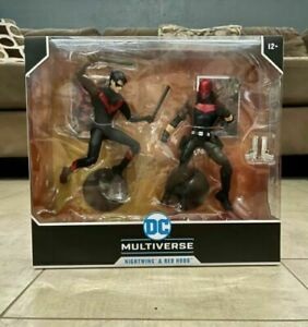 DC Comics Battle Scene Multipack Nightwing Vs. Red Hood Target Exclusive IN HAND