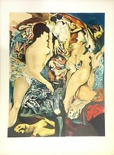 SCHOENDORFF Max Lithographie signée abstraction art abstrait surréaliste