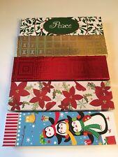 Rectangular Jewelry Cardboard Gift Box - Xmas Theme - pack of 5