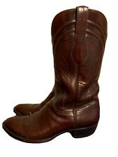 Lucchese Men's Leather Western Cowboy Boots 11 D