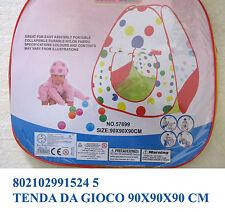 Tenda da giardino casa mare cameretta giocattolo per giochi bimbi con pois