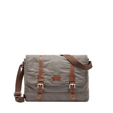 Fossil Canyon Messenger Bag Ash Gray SBG1069073