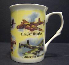 1 CLASSIC PLAINS SPITFIRE,HURRICANE LANCASTER Fine Bone China Mug Cup Beaker