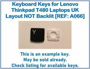 Keyboard Keys for Lenovo ThinkPad T480 Laptops UK Layout NOT Backlit [REF: A066]