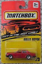 Matchbox GITFL Rolls Royce #73 1994💥MINT💥Very Rare - Red Metallic