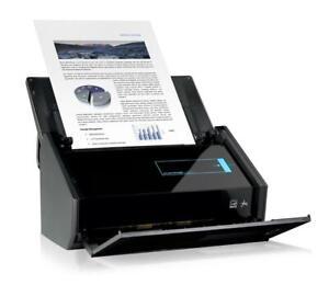 Fujitsu scansnap ix500 High speed duplex document scanner scan direct to pdf