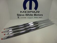 06-09 Dodge Ram 2500 3500 Mega Cab New Chrome Door Moldings Mopar Factory Oem
