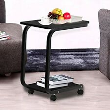Modern 2 Tier Snack Small Coffee Tables End Table removable for Living Room