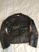 Indigo Saints Black Moto Jacket Medium