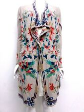 NWT BIYA by Johnny Was Myre Long Embroidered Wrap Jacket - L / XL - JW35300617