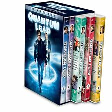 Quantum Leap Complete Series Seasons 1-5 1 2 3 4 5 27-Dvd New Scott Bakula Sale