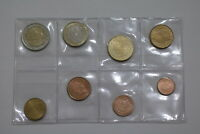 LUXEMBOURG 2002 EURO COIN SET B22 ARU15