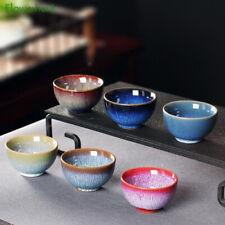 Tasse à thé en céramique chinoise Chine glaçure colorée Chine service coloré art