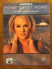 Home Sweet Home by Carrie Underwood music sheet song book