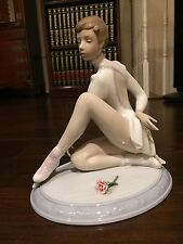 Lladro Elegance On Ice #6653 Figure Skater-New with box