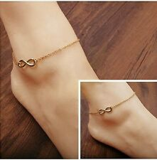 #2012 New Women Men Handmade Gift Charm 8 Shape Jewelry Infinity Bracelet