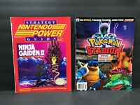 LOT OF 2 Nintendo Power Ninja Gaiden II & Pokemon Stadium Strategy Guides