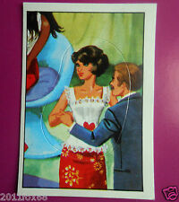 figurines prentjes cromos stickers picture cards figurine barbie 240 panini 1976