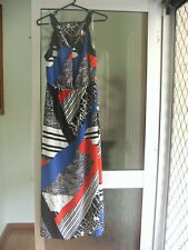 BNWT Table Eight Maxi Dress ~ Size 16 RRP $129.95 ~ Stunning Funky Retro Dress!