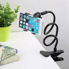Long Arm Bed Desk Adjustable Mount Holder Car Clip Stand For Any Cell Phone New
