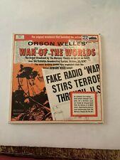 Orson Welles War Of The Worlds Evolution Record Vinyl 33 RPM