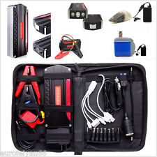 12V 68800mAh Autos Jump Starter Power Bank Battery Emergency Light 4-USB Charger