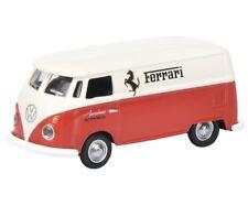"VW T1c Furgone Ferrari Automobili "" Francorchamps "" 452628800, Schuco 1:87"