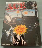 ACE: Air Combat Emulator Commodore 64/128 Flight Simulator Video Game NEW/SEALED