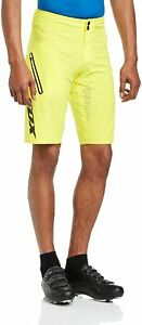 FOX Men Radshorts Attack Ultra, cycling with inner brief, Yellow, 30
